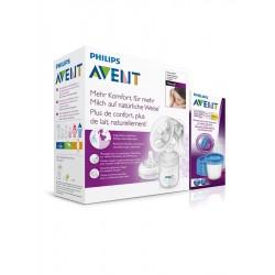 Ručná odsávačka Avent Natural s Via systémom-5 pohárikov