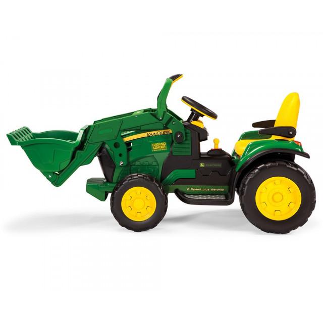 Elektrický traktor John Deere Ground Loader