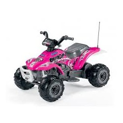 Elektrická štvorkolka Corral Bearcat Pink