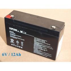 Gelová nabíjacia batéria 6V- 12Ah/ 20HR