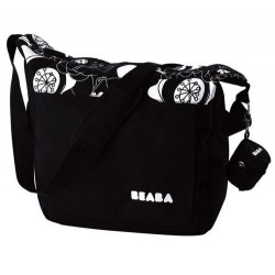 prebalovacia taška Beaba Hands free cierna