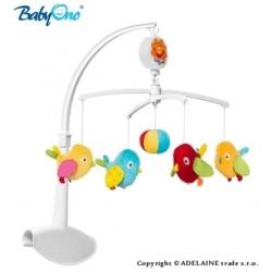 Kolotoč nad postieľku Baby Ono - Vtáčiky