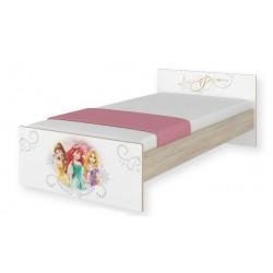 Detská junior posteľ Disney 180x90cm - Princess