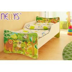 Detská posteľ Zvieratká z lesa