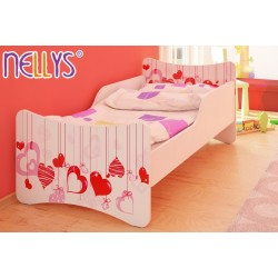 Detská posteľ Srdiečka