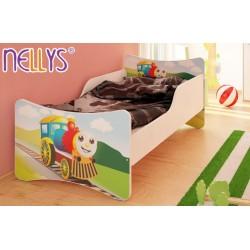 Detská posteľ Veselá Lokomotíva