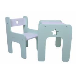 Sada nábytku Star - Stôl + stoličky