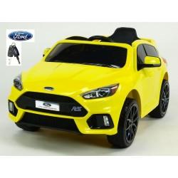 Ford Focus RS s 2.4G DO, FM, USB, TF, Mp3, LED osvetlením, otváracími dverami, pérovaním, čalunenou sedačkou, EVA kolesami, žlté