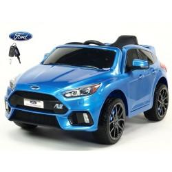 Ford Focus RS s 2.4G DO,FM,USB,TF, Mp3, LED osvetlením, otváracími dverami, pérovaním, čalunenou sedačkou, EVA kolesami, modré