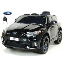 Ford Focus RS s 2.4G DO,FM,USB,TF, Mp3, LED osvetlením, otváracími dverami, pérovaním, čalunenou sedačkou, EVA kolesami, čierne
