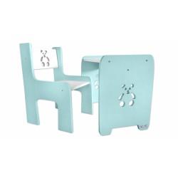 Sada nábytku Teddy - Stôl + stoličky
