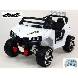 Dvojmiestna Bugina Cool sport 4x4, náhon 4 EVA kolies s 2.4G DO, FM, Mp3, USB,TF, bluetooth, LED osvetlením