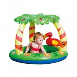Detský nafukovací bazén so strieškou Bestway Jungle