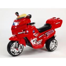 Veľká elektrická motorka NEW Viper s 1 náhradnou bateriou zadarmo, LED efektami, Mp3, hudba, 6V