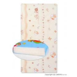 Detská penová matrac béžová - rôzne obrázky