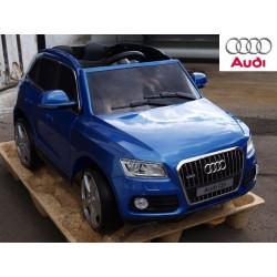 Audi Q5 TFSI quattro s 2.4G DO, USB, TF, Mp3, LED osvetlením, pérovaním, modrá metalíza