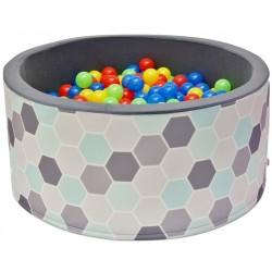 Bazén pre deti 90x40cm kruhový tvar + 200 balónikov