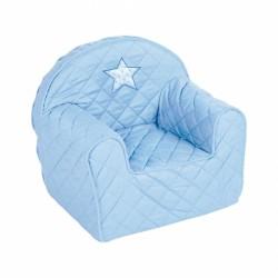 Detské kresielko Hviezdička - sv. modré