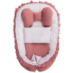 Hniezdočko s perinkou pre bábätko Belisima Angel Baby