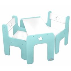 Sada nábytku Star - Stôl + 2 stoličky