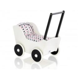 Drevený kočík pre bábiky MILA