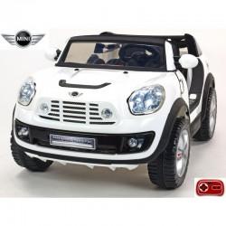 Elektrické auto MINI Beachcomber stredná veľkosť - plážové autíčko s 2,4G DO, plynulým rozjazdom, Mp3, voltmetrom,12V, žltý