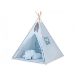 Detský stan Typi-Maxi sada-obojstranná deka+poštáriky