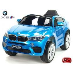 BMW X6 M s 2,4G bluetooth DO, EVA kolesami, lakovaná vínová farba