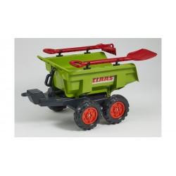 Vlek za traktor 4 kolesový s náradím Class