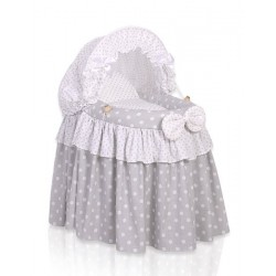 Romantická postieľka pre bábiku