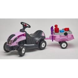 Odrážadlo traktor Baby Princess