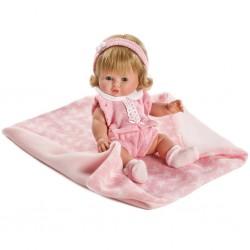 Luxusná detská bábika-bábätko Berbesa Amalia 35cm
