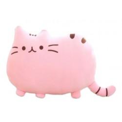 PUSHEEN Kočka - dekoračný vankúš 30x40cm, ružová
