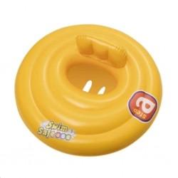 Detský nafukovací kruh Bestway žltý