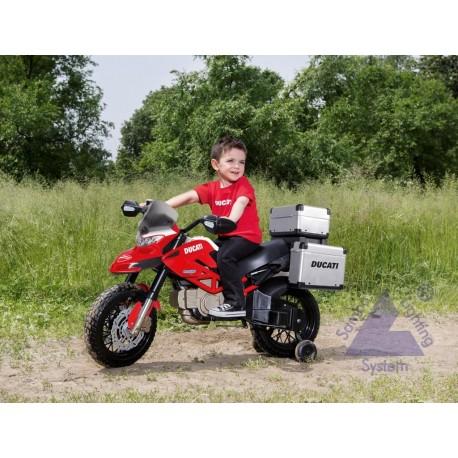 Elektrická motorka Peg-Pérego Ducati Enduro 12V červená