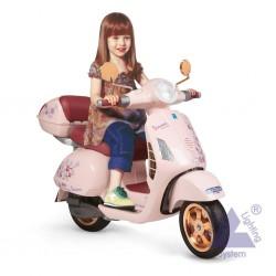 Elektrická motorka Peg-Pérego Vespa Mon Amour 12V ružová