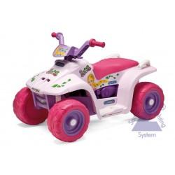 Elektrická štvorkolka Peg-Pérego Quad Princess 6V ružováElektrická štvorkolka Corral Bearcat Pink