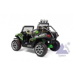 Elektrická bugina Peg-Pérego Polaris Ranger RZR GreenShadow 24V zelená