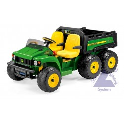 Elektrické vozidlo Peg-Pérego John Deere Gator HPX 6x4 24V zelená