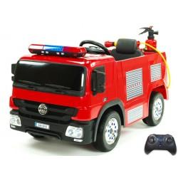 Elektrické hasičské auto s požiarnou výbavou