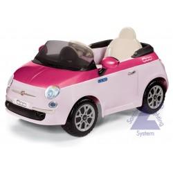 Elektrické autíčko Peg-Pérego Fiat 500 Pink 6V ružová