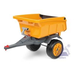 Peg-Pérego John Deere Construction Trailer oranžová