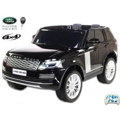 Elektrické autíčko SUV Range Rover HSE, 4x4, čierna metalíza