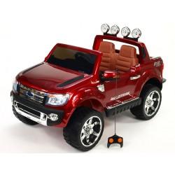 Ford Ranger LUX džíp s DO, FM rádiom, pérovaním, EVA kolesami, otváraním, čaluneným sedákom, vínová metalíza