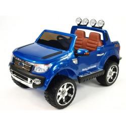 Ford Ranger LUX džíp s DO, FM rádiom, pérovaním, EVA kolesami, otváraním, čaluneným sedákom, modrá metalíza