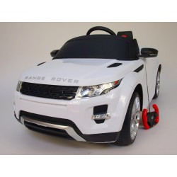 Elektrické auto Range Rover Evoque