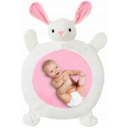 Tutumi Plyšová hracia deka, podložka 67x78x5cm - Zajačik