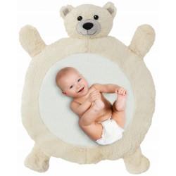 Tutumi Plyšová hracia deka, podložka 67x78x5cm - Medvedík