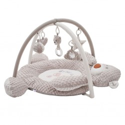 Luxusná hracia deka z minky s melódiou PlayTo medvedík