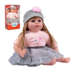Slovensky hovoriaca a spievajúca detská bábika PlayTo Nina 46 cm